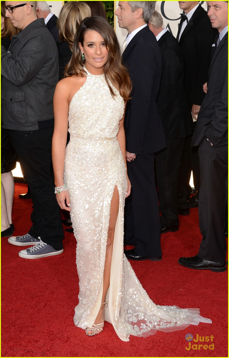 lea michele golden globes 09