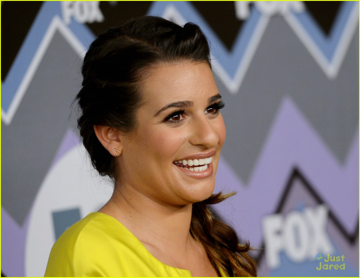 lea michele melissa benoist fox tca party 13