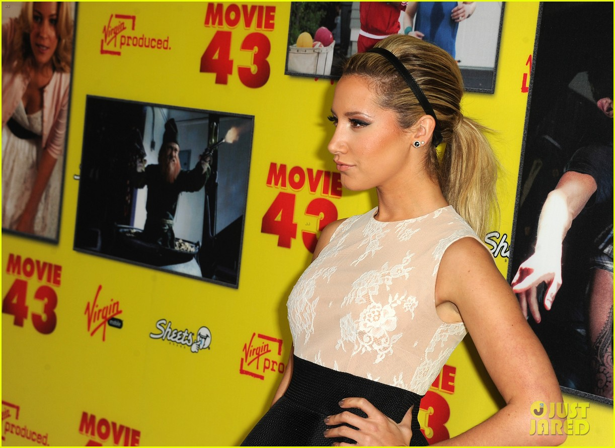 ashley tisdale movie 43 premiere 01