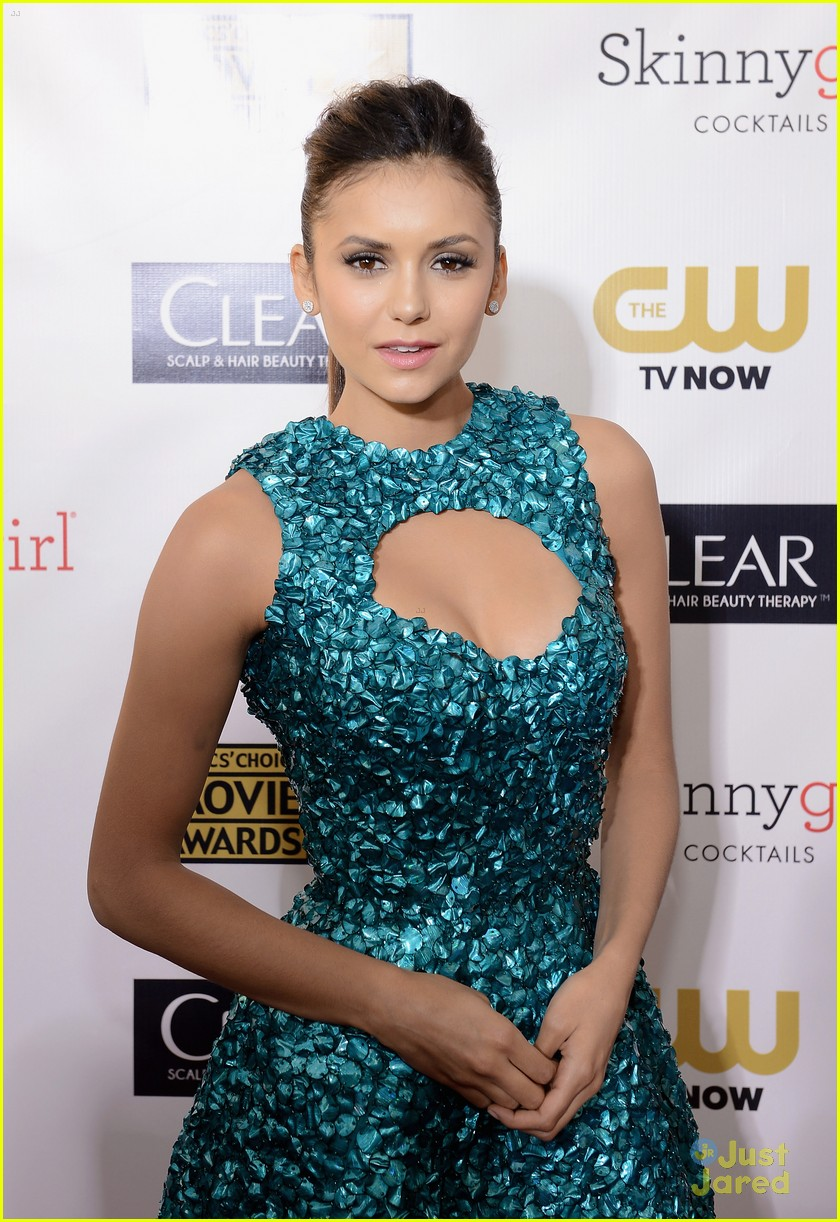 nina dobrev ian somerhalder paul cory critics choice 21