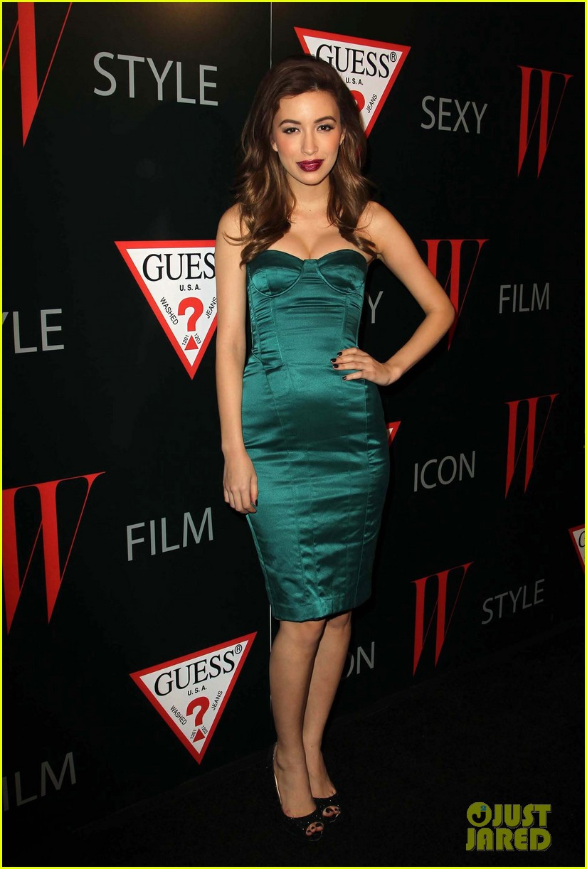 renee olstead christian serratos 30 years of fashion and film red carpet 01