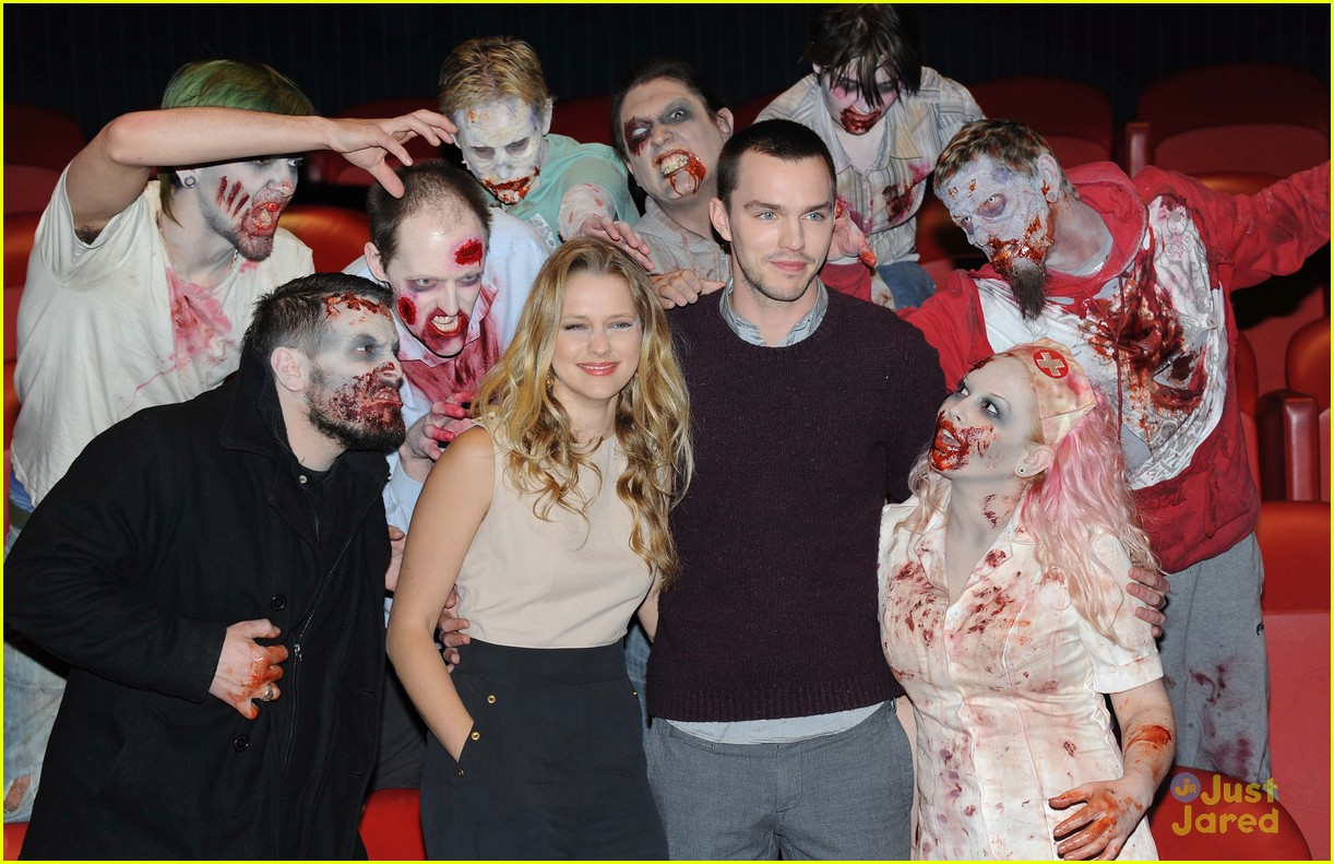 teresa palmer nick hoult london warm bodies 02