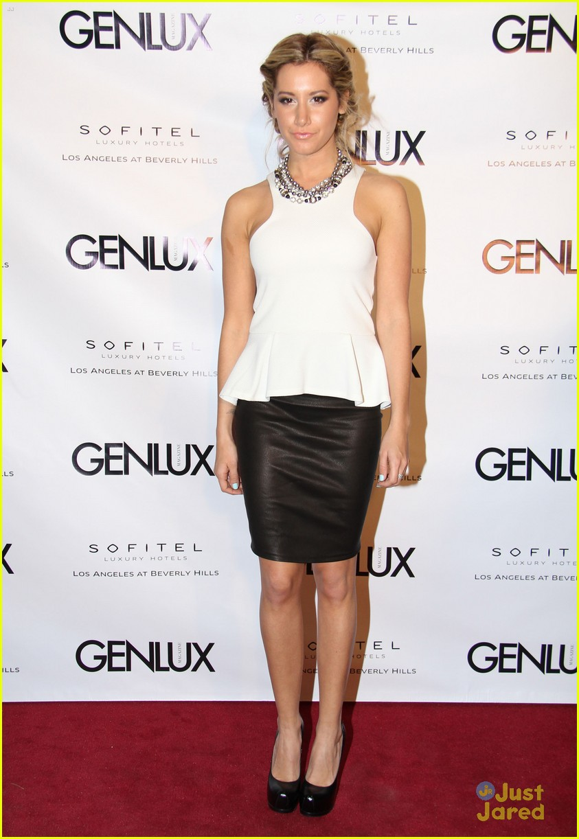 ashley tisdale genlux event 06