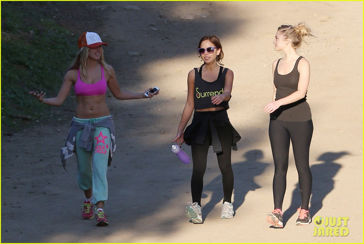 ashley tisdale allie gonino hiking buddies 15