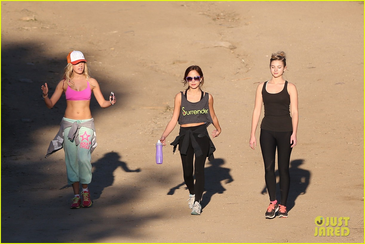 ashley tisdale allie gonino hiking buddies 29