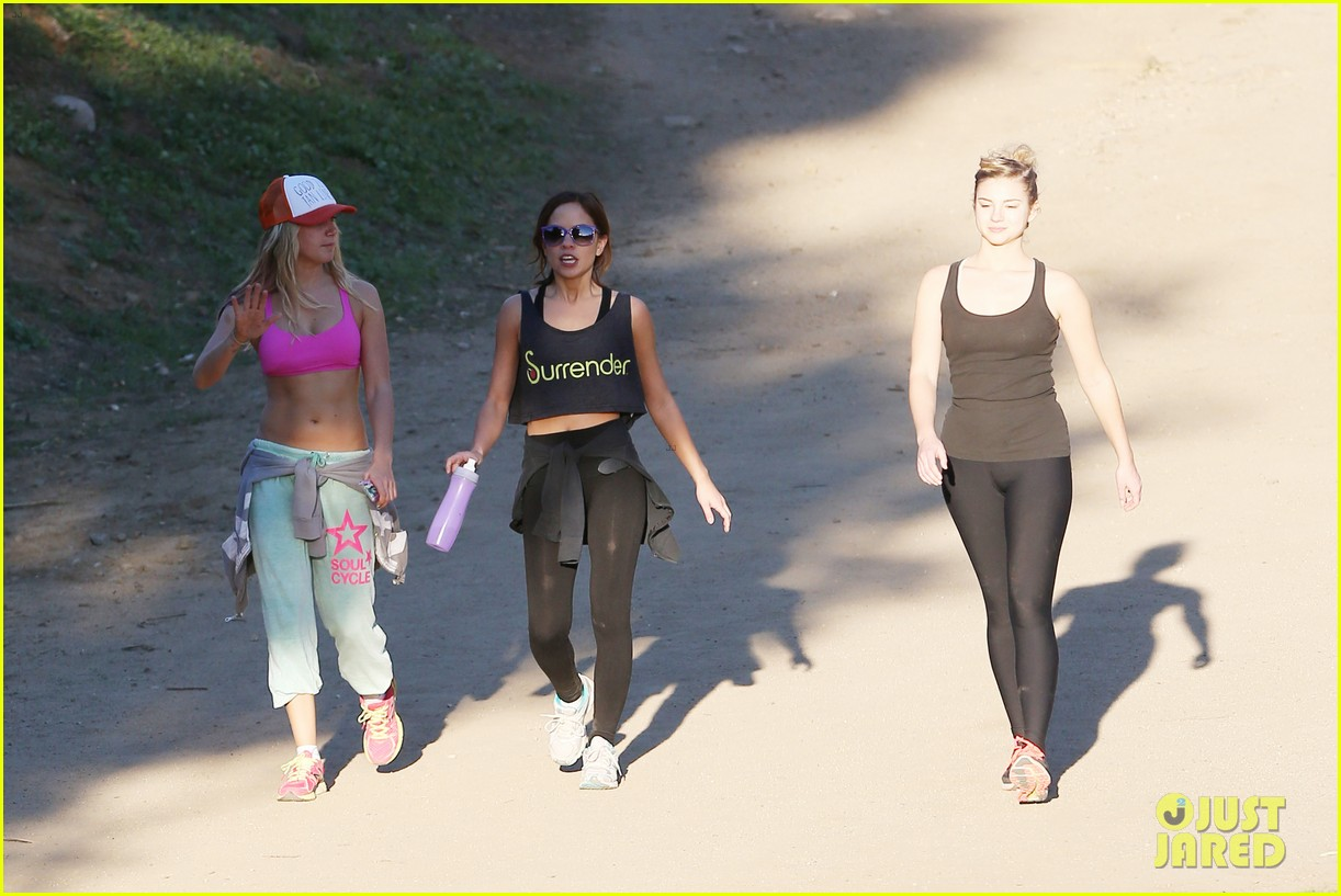ashley tisdale allie gonino hiking buddies 35