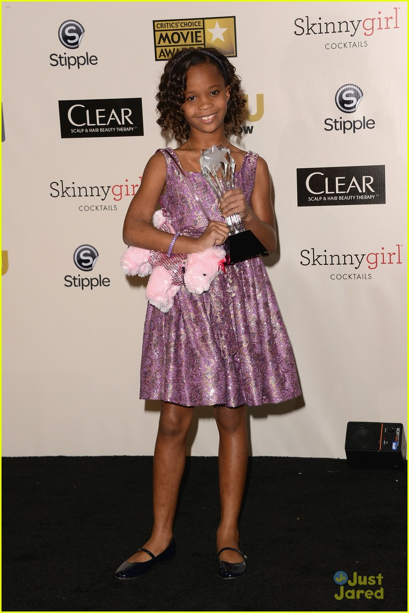 quvenzhane wallis critics choice 13