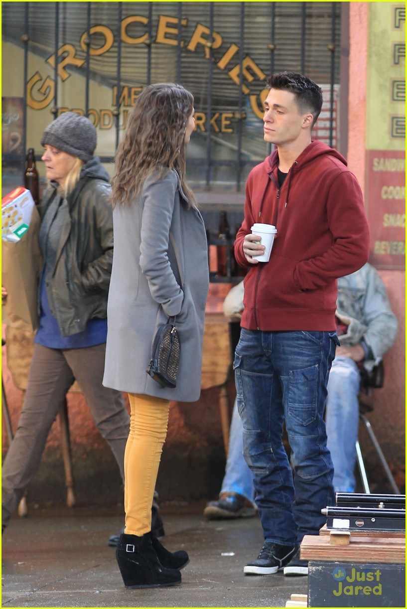 willa holland colton haynes arrow set 02