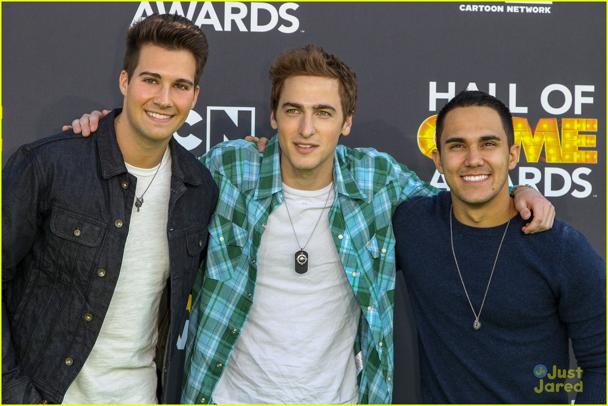 big time rush level up hall game awards 09