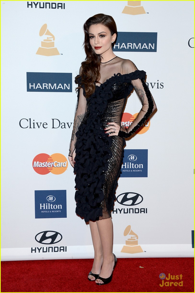 cher lloyd clive davis grammy party 14