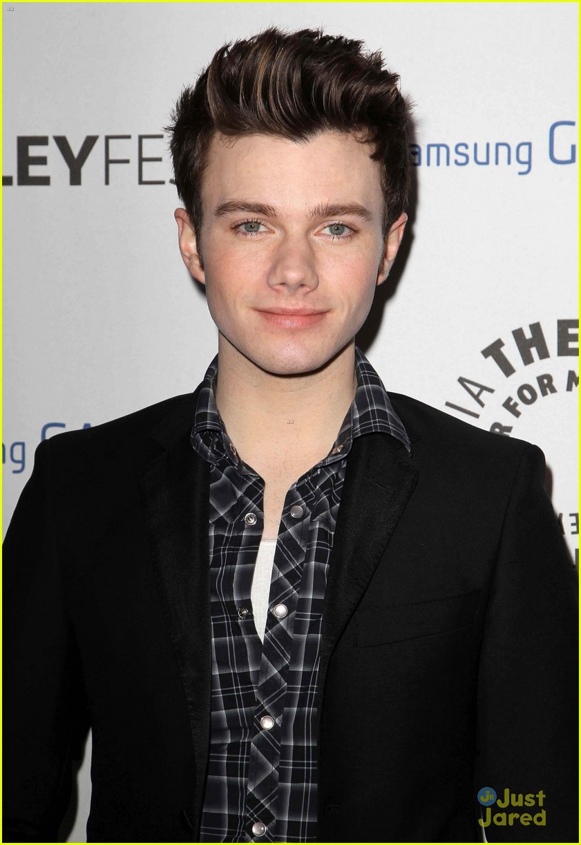 chris colfer darren criss inaugural paleyfest icon award event 02