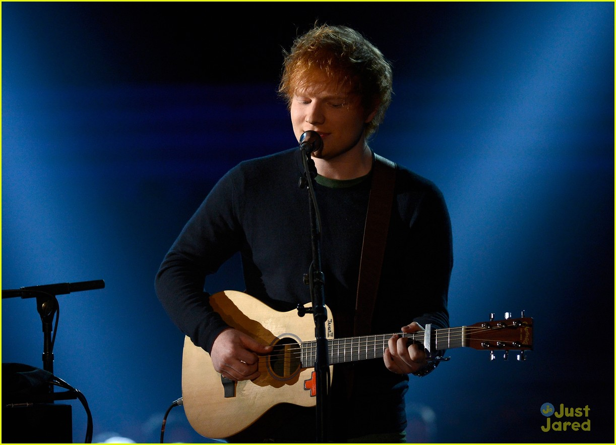 ed sheeran 2013 grammys 05