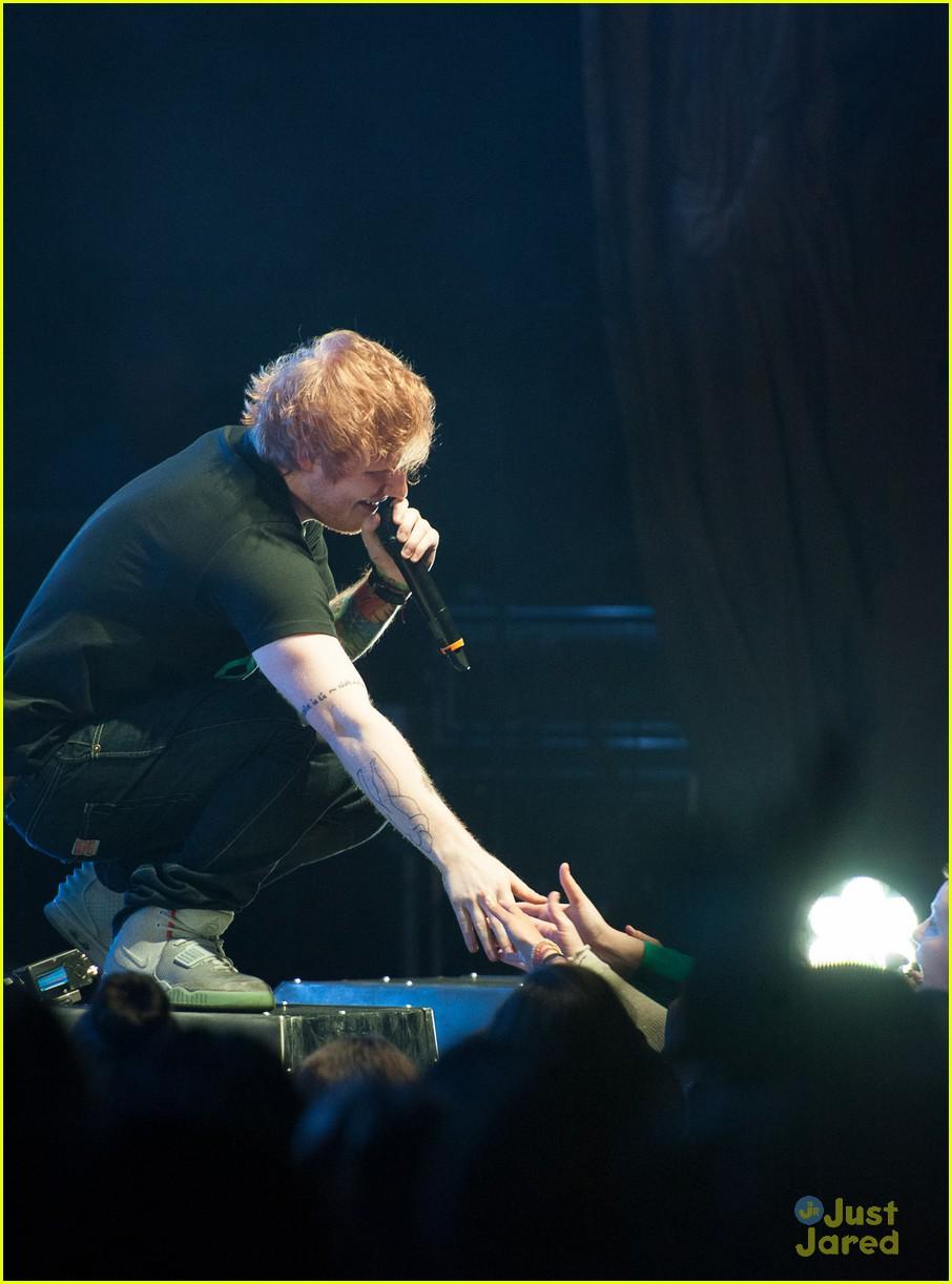 ed sheeran today show stop 11