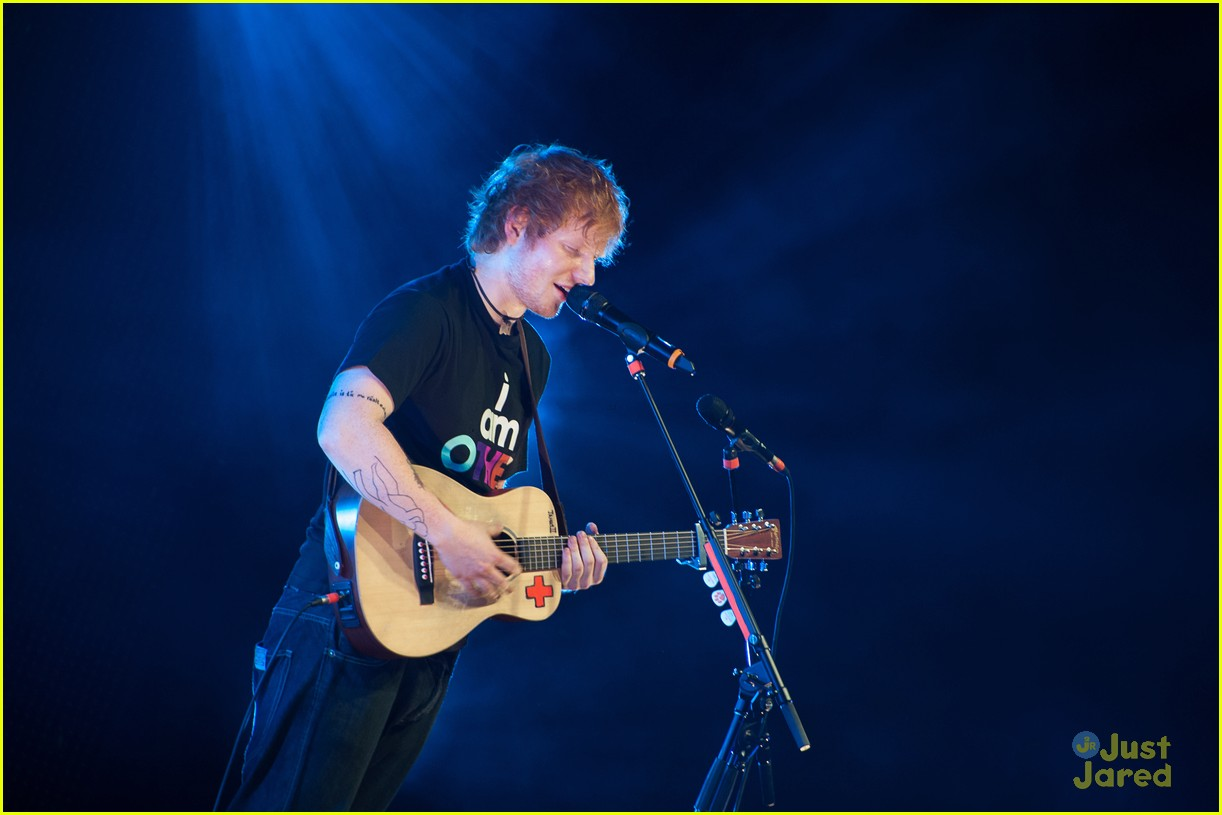 ed sheeran today show stop 17