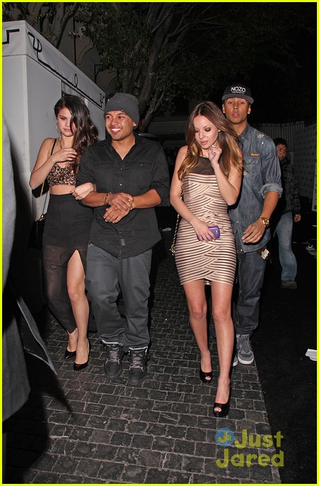 selena gomez post grammys party with alfredo flores 01