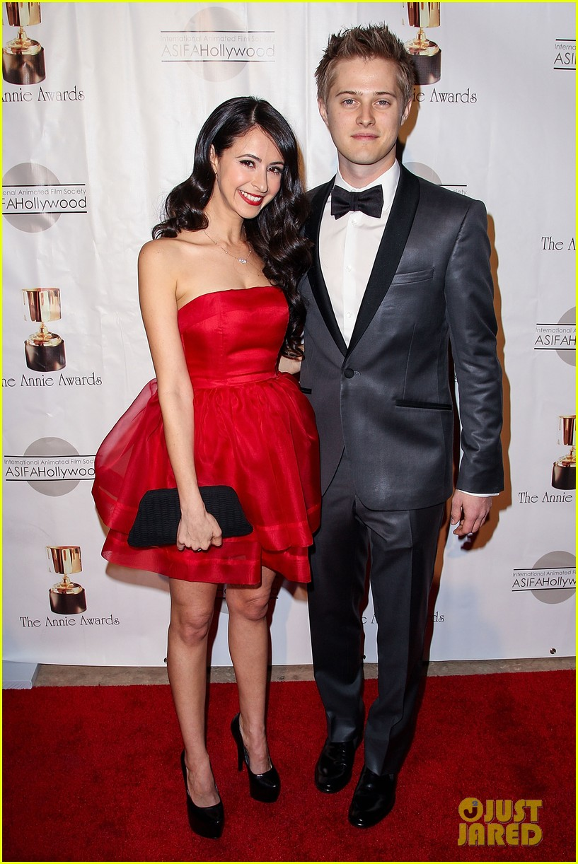 matt lanter lucas grabeel annie awards 02