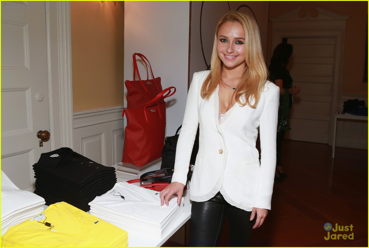 hayden panettiere lacoste party super bowl 13