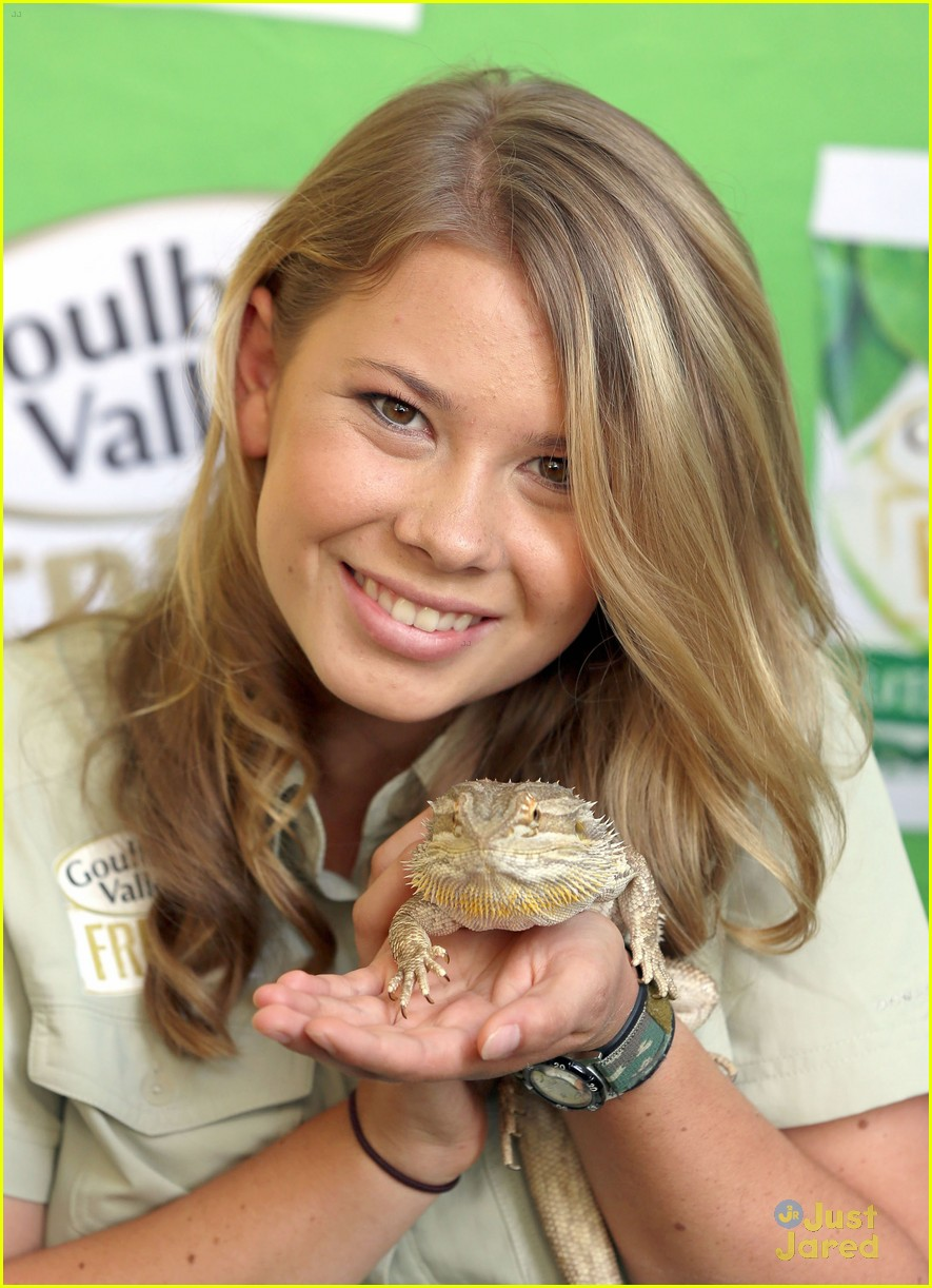bindi irwin goulburn valley fresh launch 04