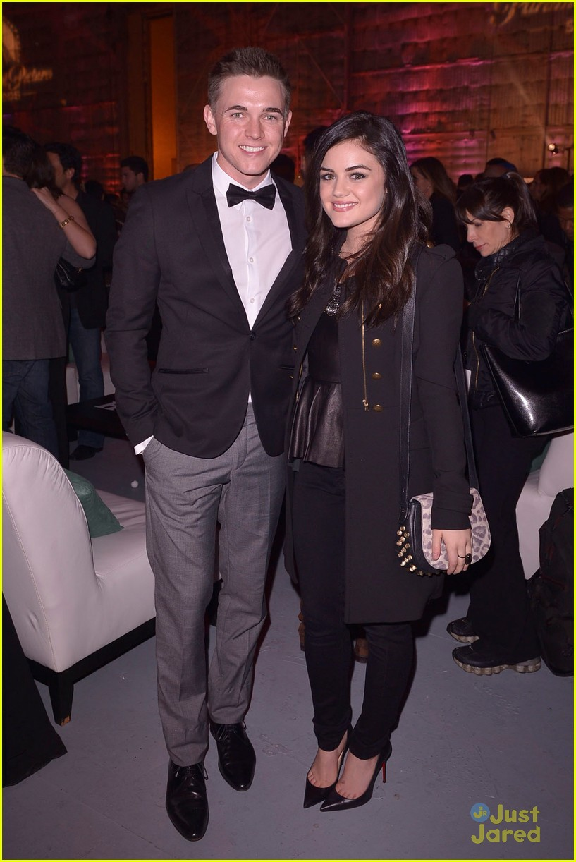 jesse mccartney lucy hale friends grammy 03