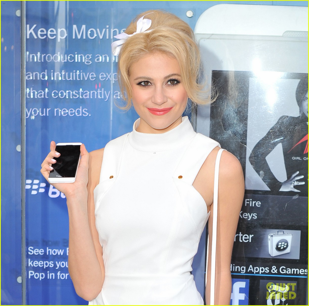 pixie lott blackberry z10 launch event 28