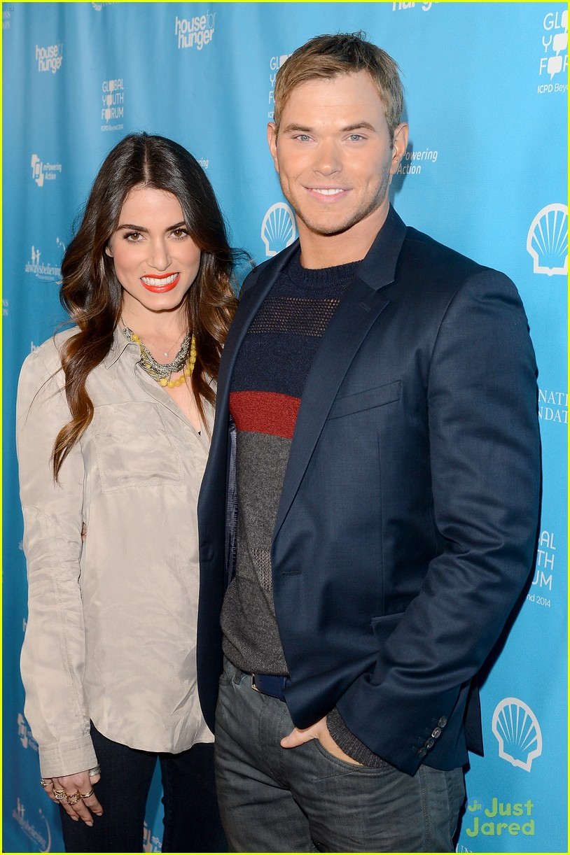 nikki reed kellan lutz mpowering grammy event 14