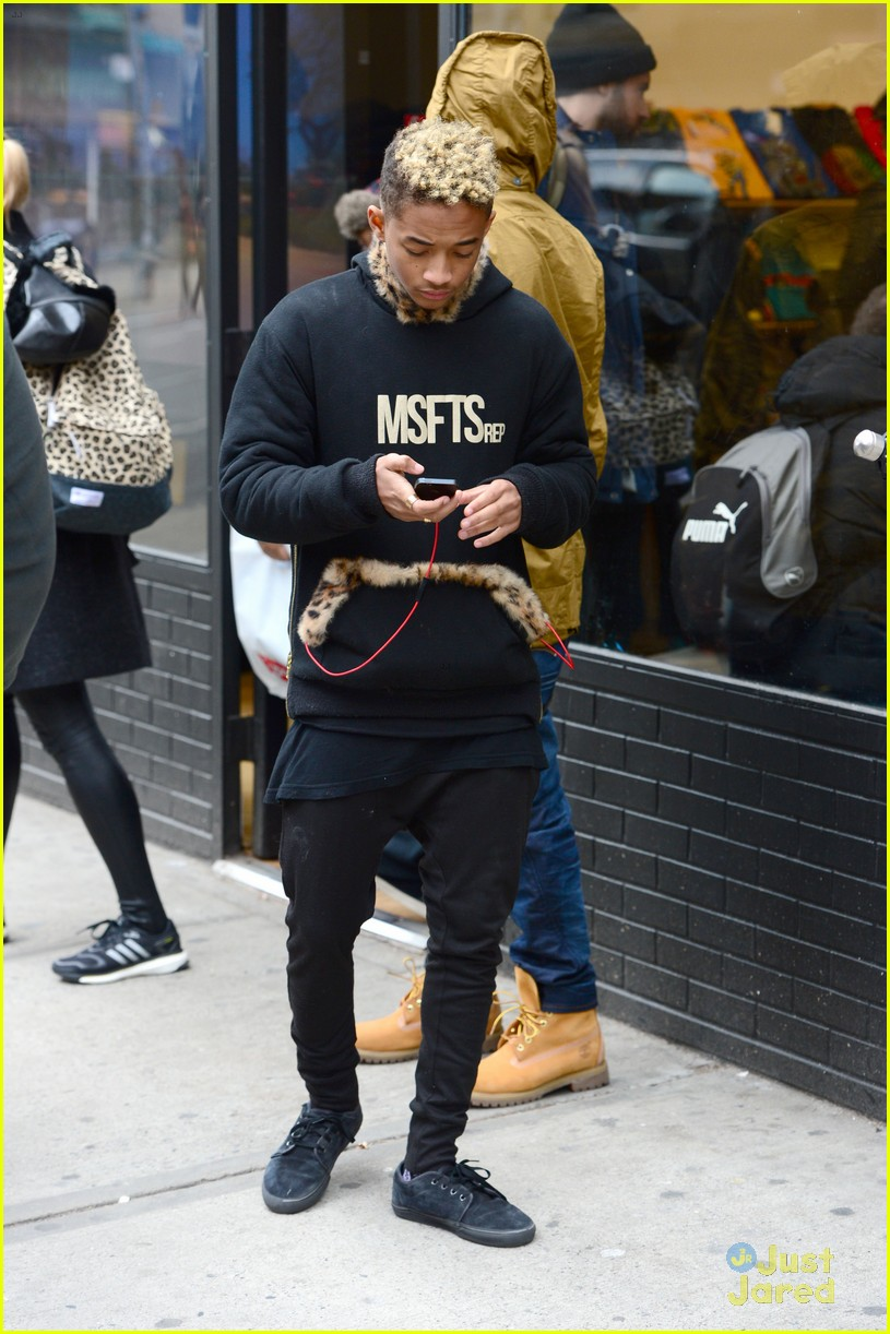 jaden willow smith nyc music video shoot 29