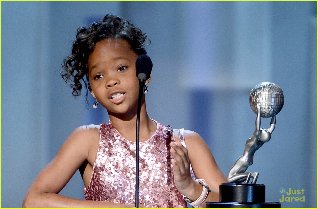 quvenzhane wallis dga image awards 01
