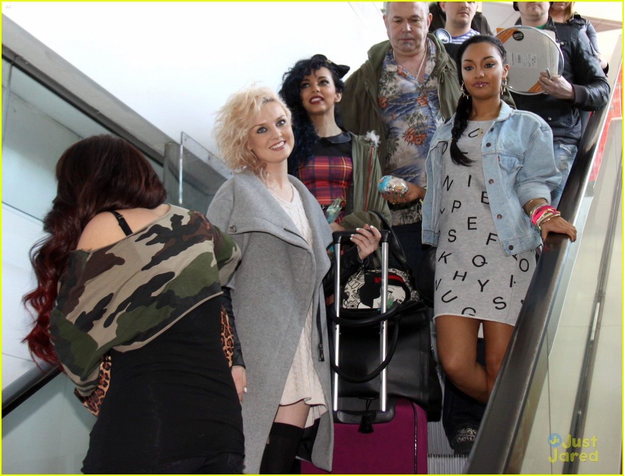 little mix baltimore arrival 05