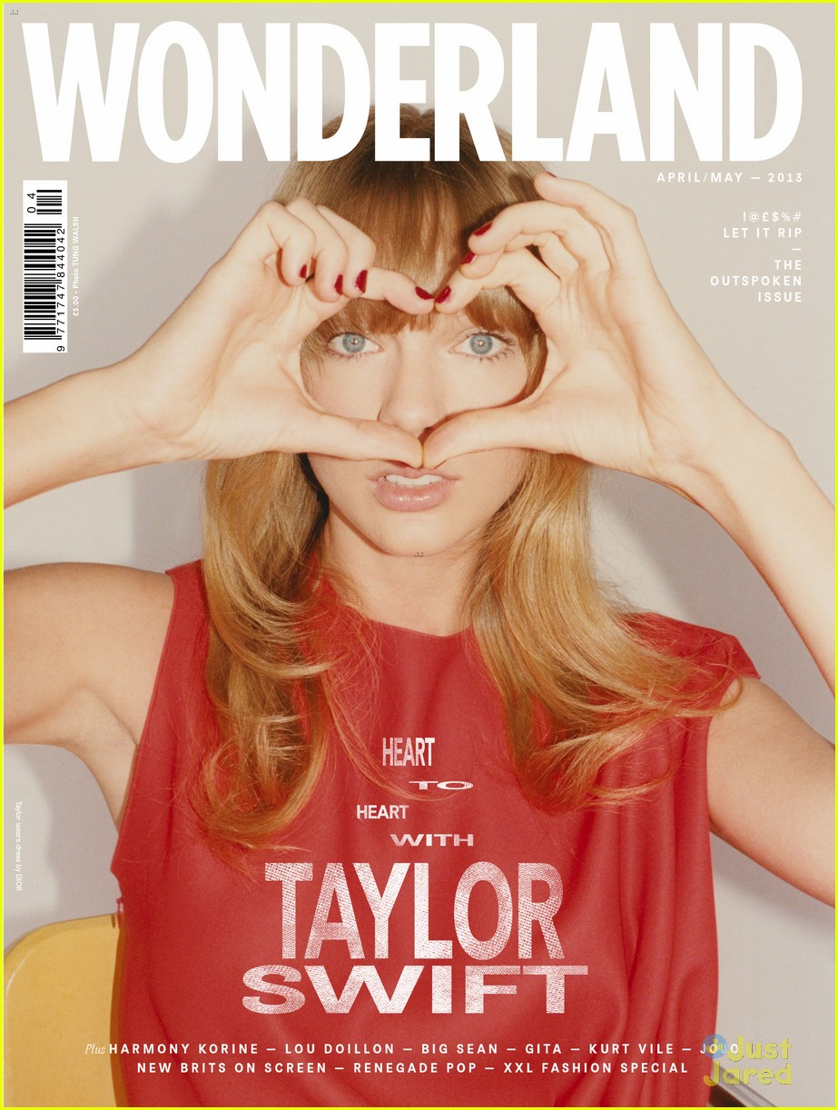 taylor swift covers wonderland magazine april 2013 01