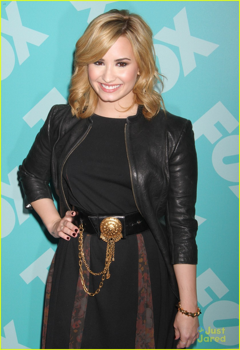 demi lovato fox upfronts 2013 top shop event 30