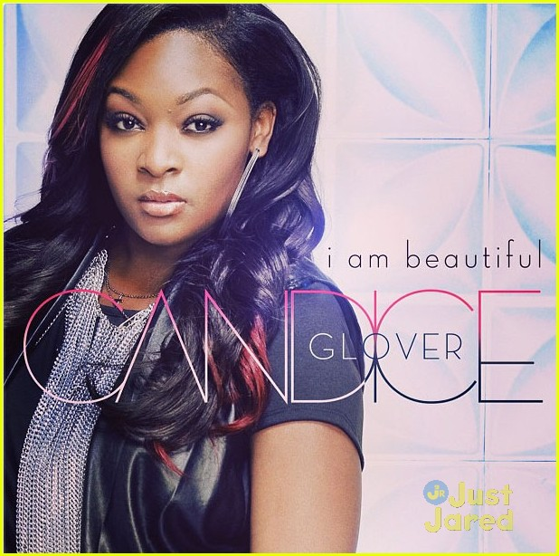 "the cover artwork for Candice Glover's first single ""I Am Beautiful ..."