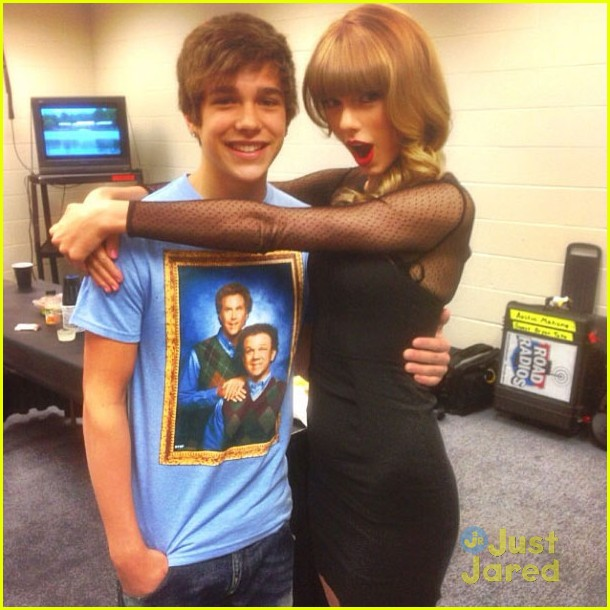 Austin Mahone u0026 Taylor Swift: Reunited for u0026#39;Redu0026#39; Tour! : Photo 558265 ...
