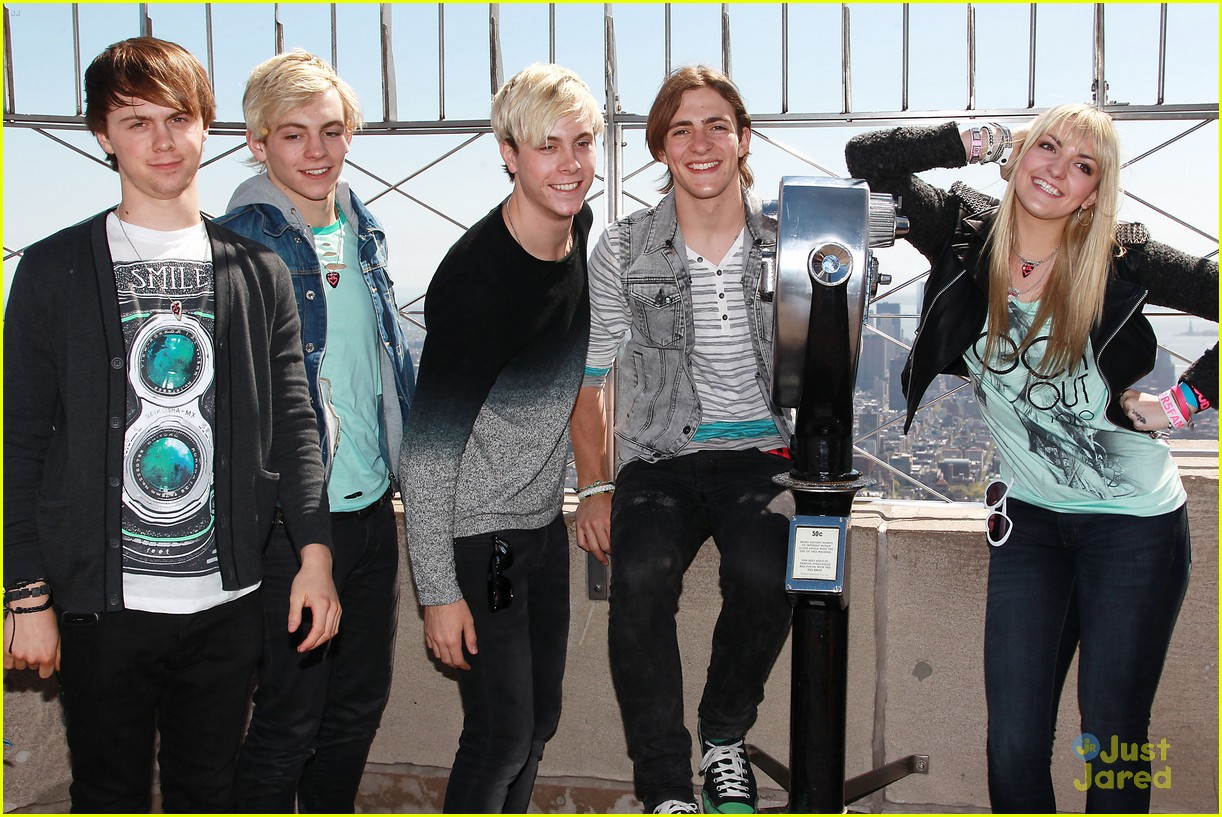 About This Photo Set: R5 get their fans into the fun while visiting