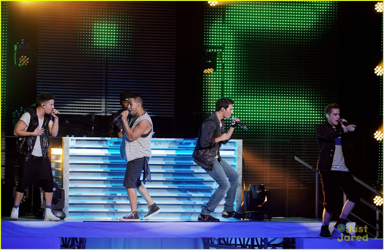 big time rush summer break tour performance 11