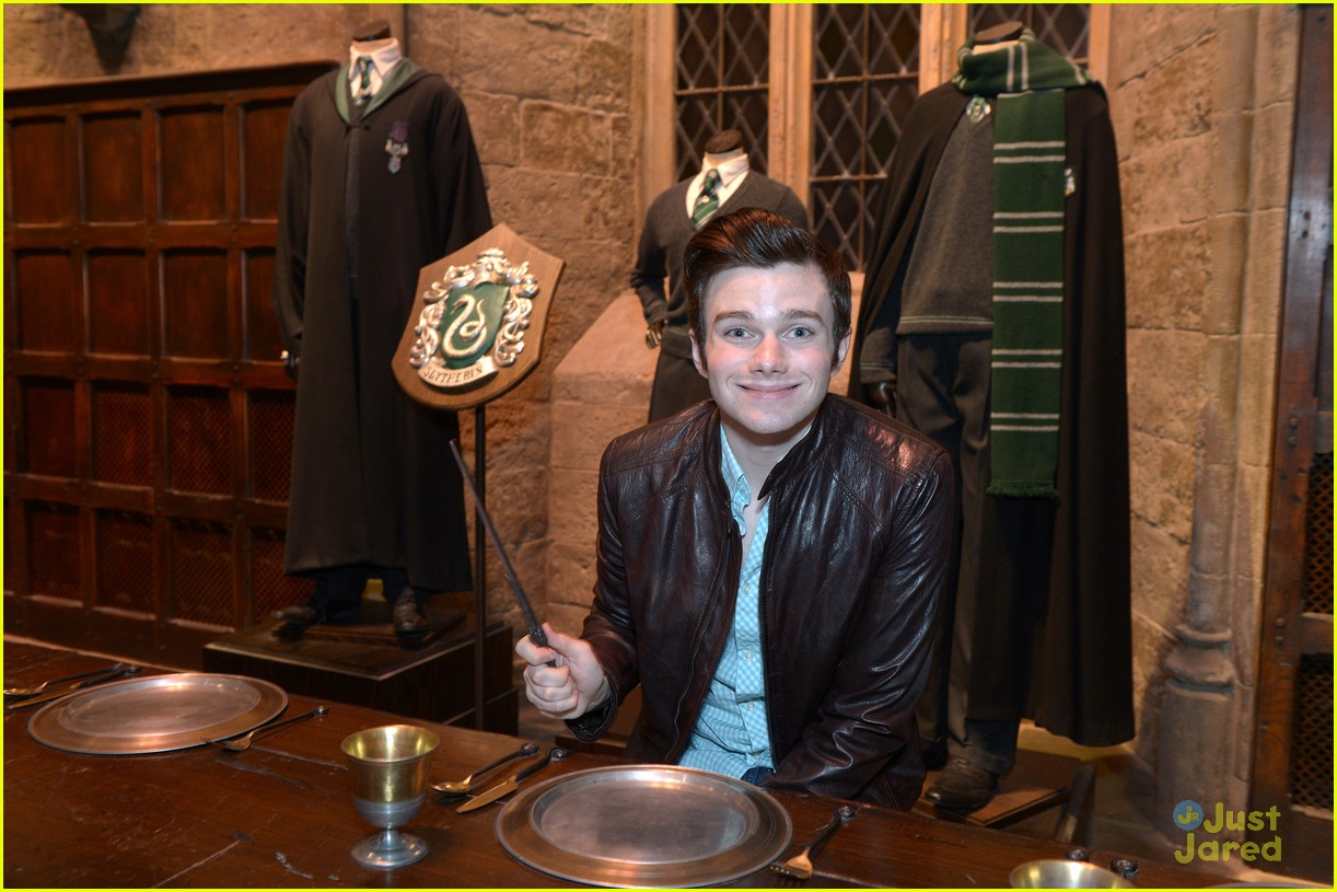 chris colfer hp studio tour london 15