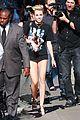 Cyrus-jklarr3 miley cyrus jimmy kimmel live arrival 2 33