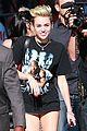 Cyrus-jklarr3 miley cyrus jimmy kimmel live arrival 2 34