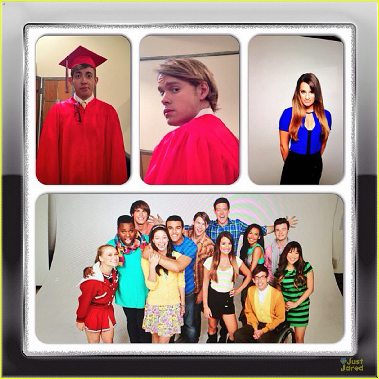 lea michele cory monteith glee photo shoot for season 5 05