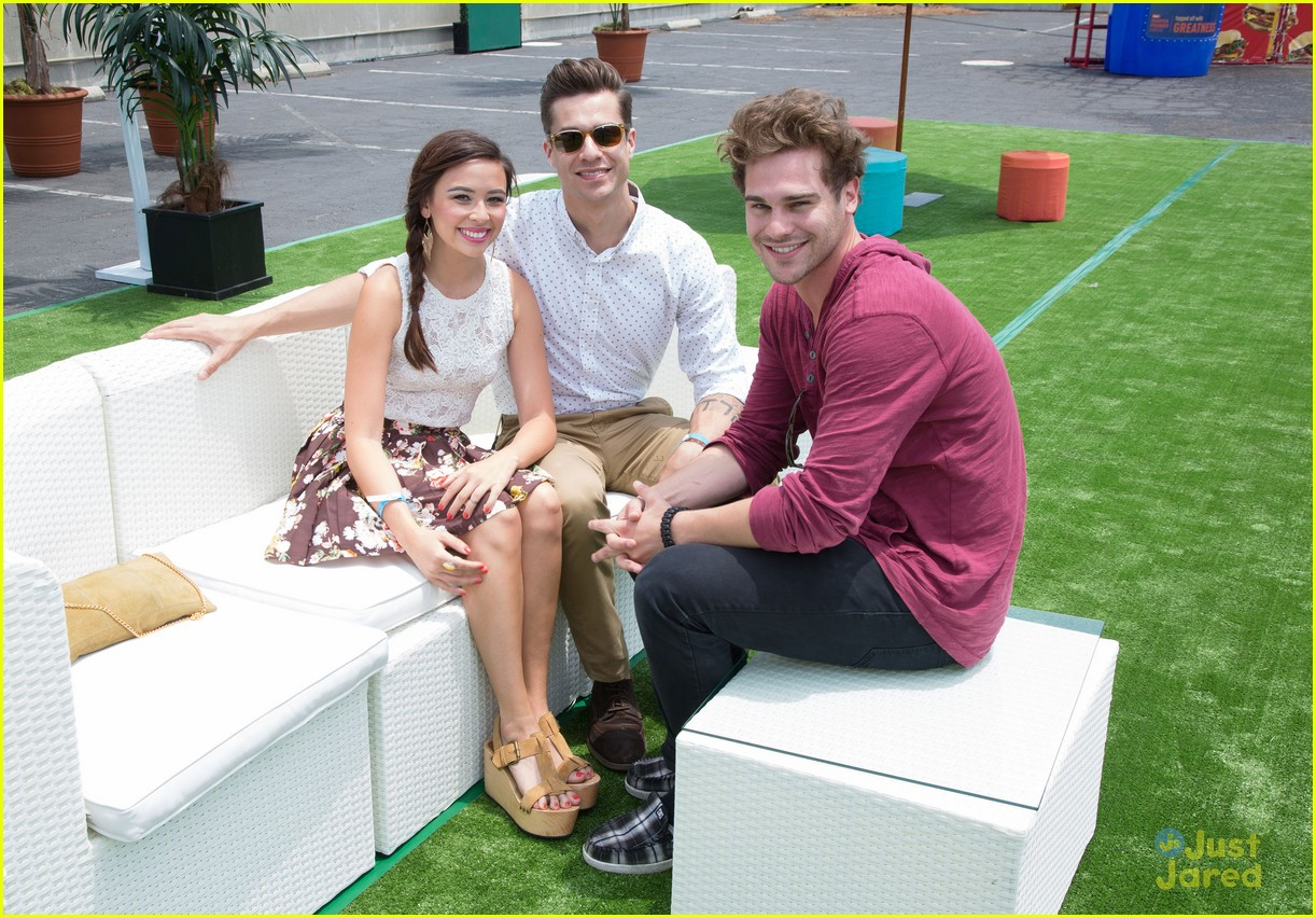 malese jow grey damon jj summer party 01