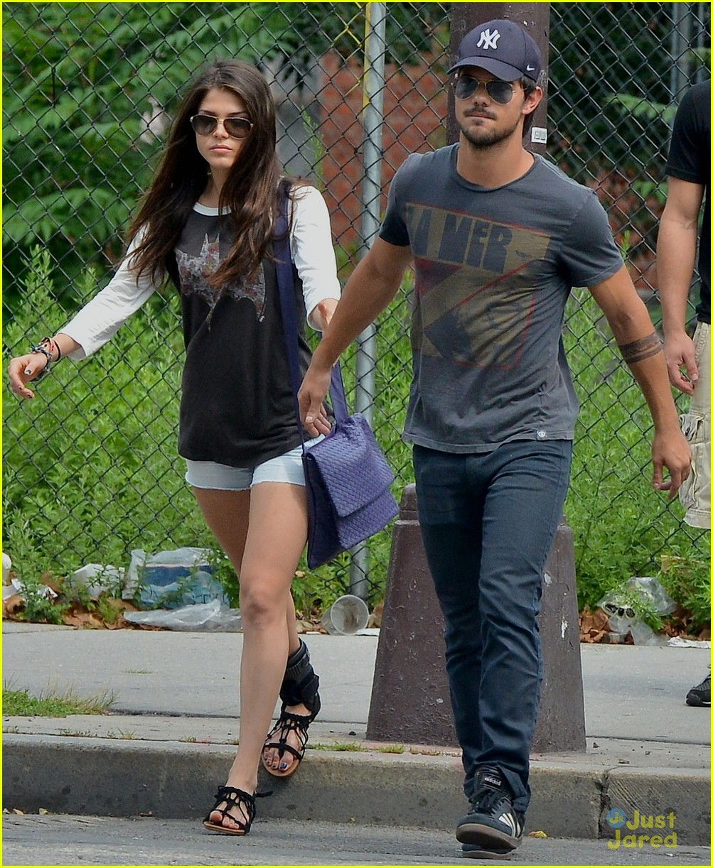 Taylor Lautner & Marie Avgeropoulos: New Couple Alert ...