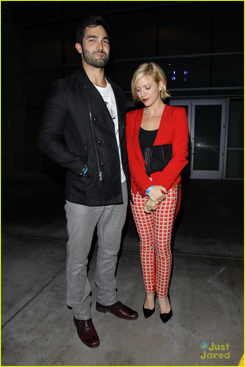 brittany snow amp tyler hoechlin beyonce concert couple