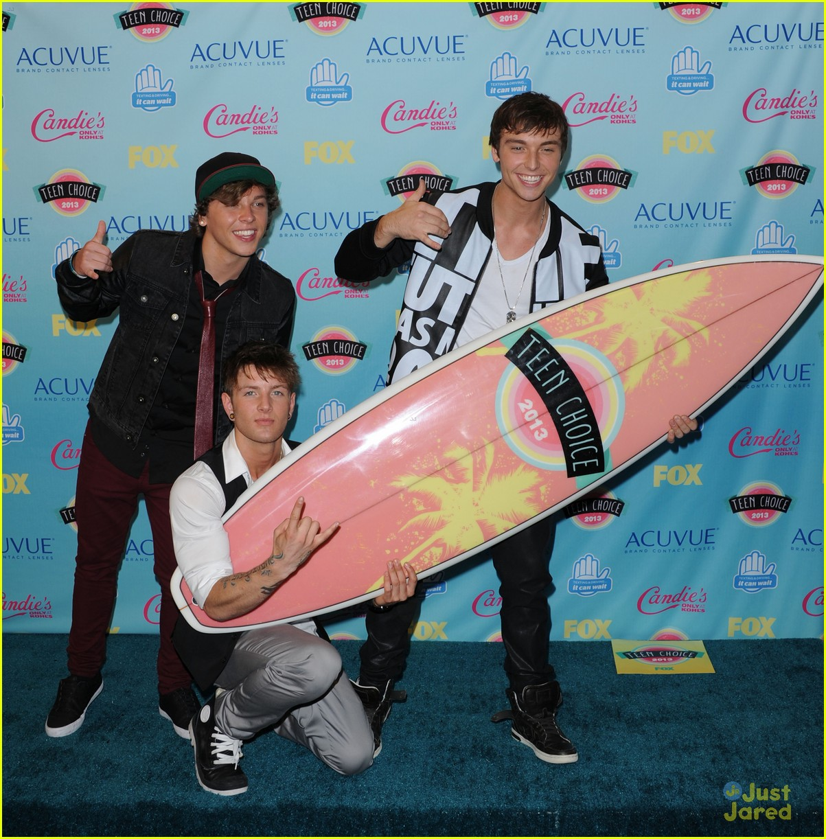 emblem3 teen choice awards 2013 08