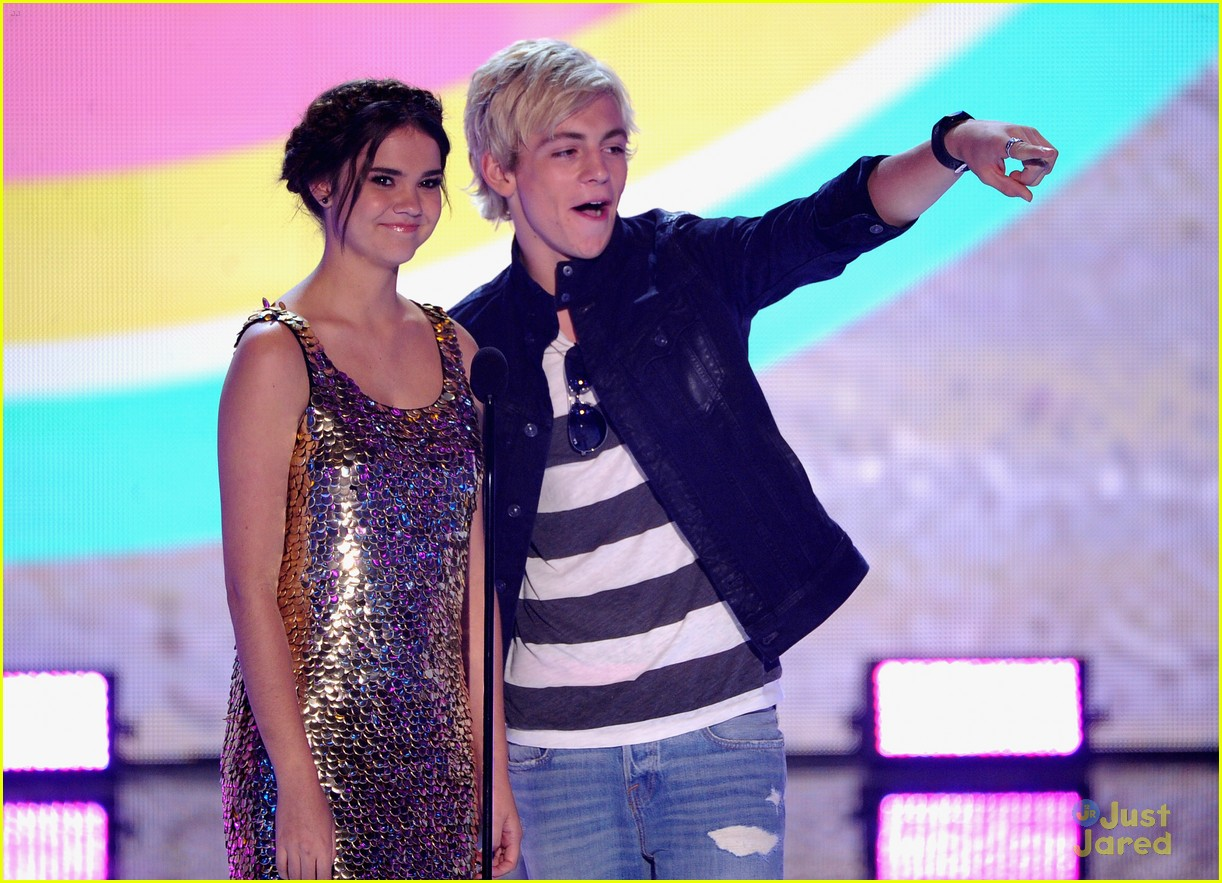 maia mitchell ross lynch teen choice awards 2013 06