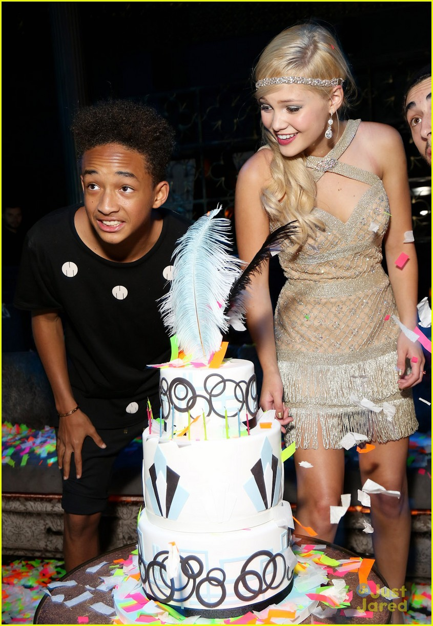 Nick And Disney TV: Jaden Smith & Olivia Holt At her Sweet ...