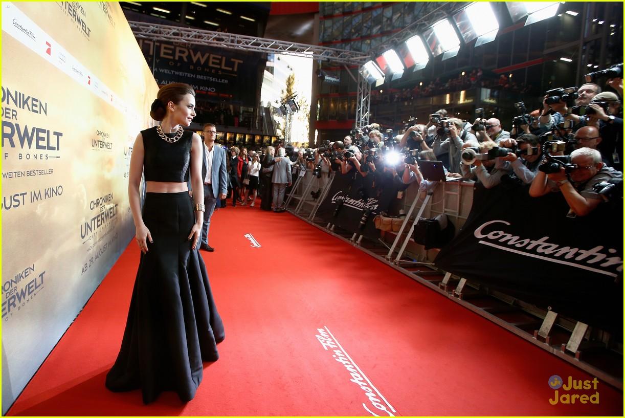 lily collins tmi berlin premiere 14