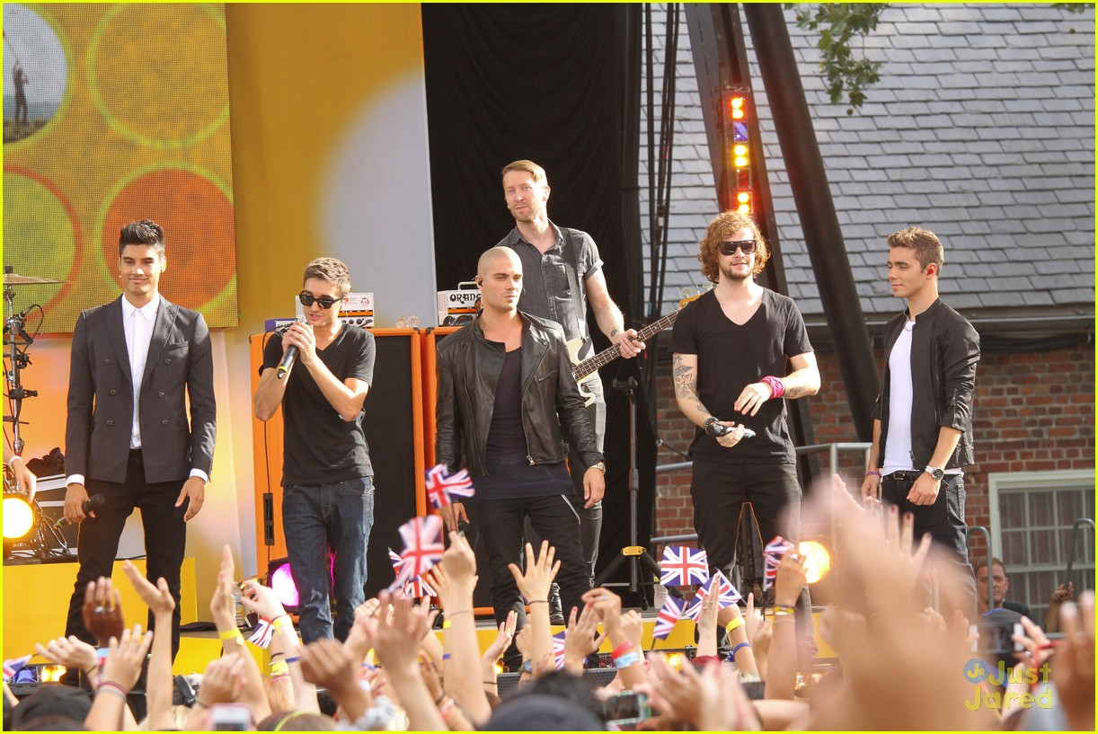 the wanted gma performance 26