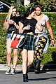 Jenner-lunch kendall kylie jenner separate lunch outings 11