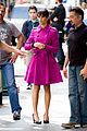 Lea-pink lea michele pink coat glee nyc 09