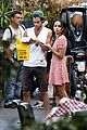Penn-rome penn badgley zoe kravitz kisses in rome 15