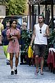 Penn-rome penn badgley zoe kravitz kisses in rome 22